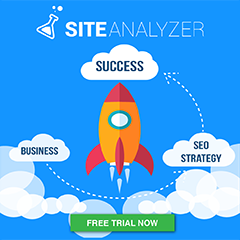 Site Analyzer banner 240x240